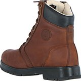 Stalschoen Mountain Horse Stable Boots Spring River Lace Men Brown-bruin 44_