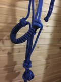 EPONA ROPE HALSTER AND LEAD BLAUW_