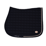 KINGSLAND LAS FLORES SADDLE PAD WHIT COOLMAX Navy_