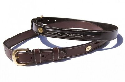 Dyon Fancy Belt model BE02 bruin of zwart