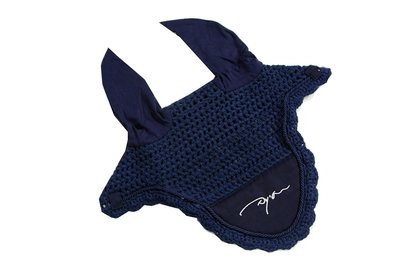 dyon oortje / fly bonnet zwart of navy