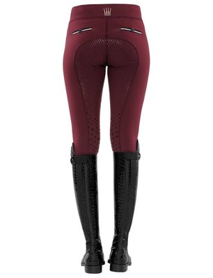 COMING SOON / SPOOKS  CIARA FULL LEGGINGS BURGUNDY