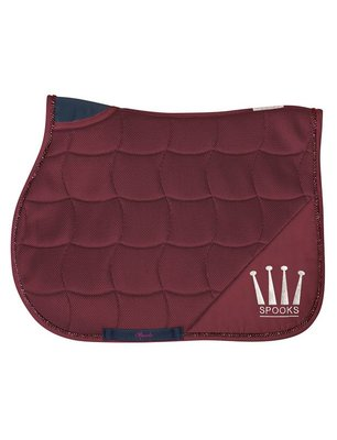 COMING SOON / SPOOKS SADDLE PAD ACTIVE BORDEAUX