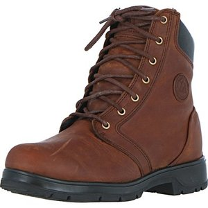 Stalschoen Mountain Horse Stable Boots Spring River Lace Men Brown-bruin 44