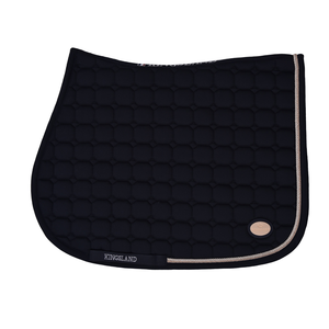 KINGSLAND LAS FLORES SADDLE PAD WHIT COOLMAX Navy